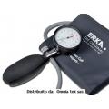 Misuratore di pressione aneroide ERKA KOBOLD NERO con bracciale nylon e chiusura velcro - 32691