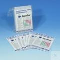 AQUADUR® Strisce analitiche per la durezza dell'acqua 3-25°d cf.50x3 strisce MN 912.90